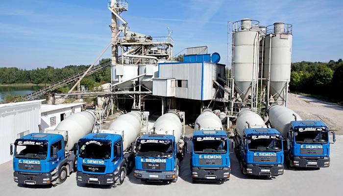 Prächtig Transportbeton aus Paderborn | E. Siemens @TP_37